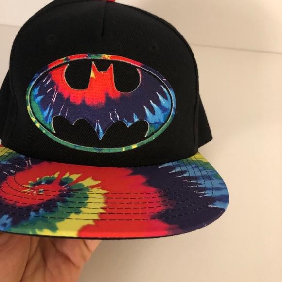 TM/DC Comics Batman Multicolored/Black Hat